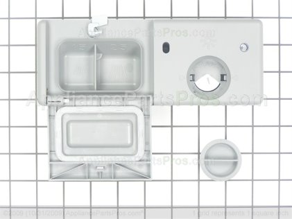GE Detergent Dispenser WD12X10220 from AppliancePartsPros.com