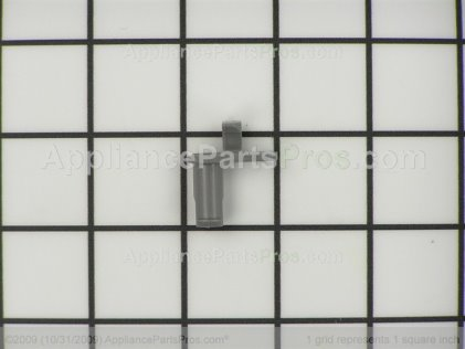 GE Dishrack Roller Stud WD12X10141 from AppliancePartsPros.com