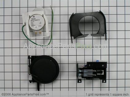 GE Disp Upgrade Kit Bk WR49X10106 from AppliancePartsPros.com