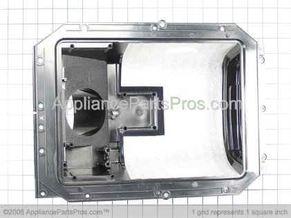 GE Display Recess (black) WR17X10517 from AppliancePartsPros.com