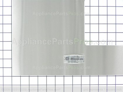 GE Door Cover W/g WB55X10351 from AppliancePartsPros.com