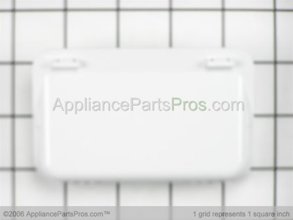 GE Door Handle, White WE01X10013 from AppliancePartsPros.com