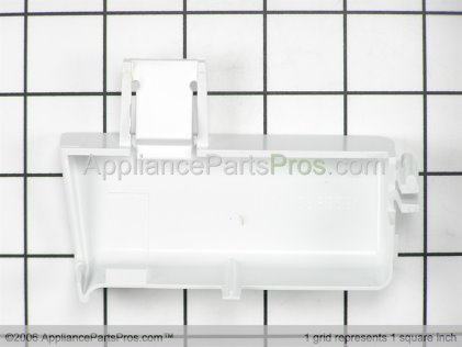 GE Door Shelf End Cap, Left Side WR2X9295 from AppliancePartsPros.com