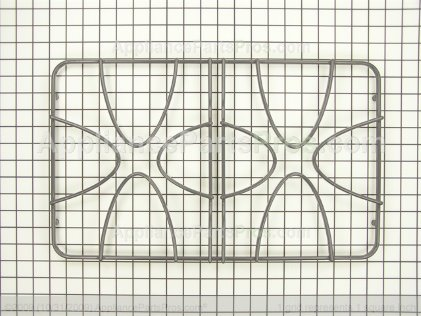 GE Double Burner Grate WB31T10050 from AppliancePartsPros.com