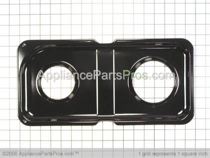 GE Double Drip Pan (right Side) WB34K10009 from AppliancePartsPros.com