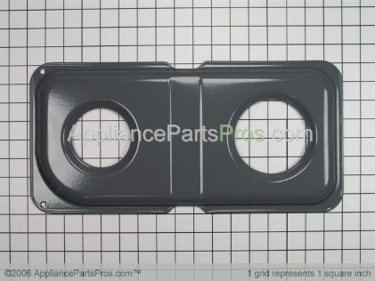GE Double Drip Pan WB34K10013 from AppliancePartsPros.com