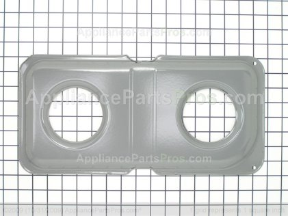 GE Double Drip Pan WB34K10014 from AppliancePartsPros.com