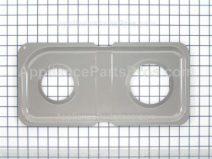 GE Double Drip Pan WB34K10016 from AppliancePartsPros.com