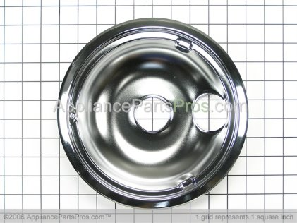 GE Drip Pan WB31K5025 from AppliancePartsPros.com
