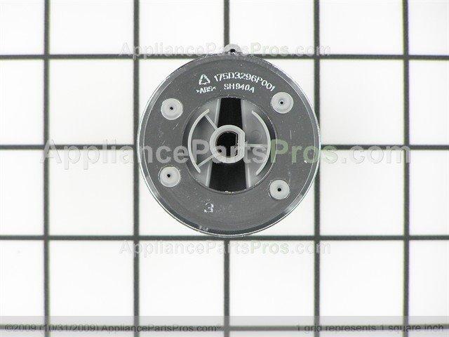 GE Control Knob WH01X10462 From AppliancePartsPros Zoom Part Diagram Repair Video