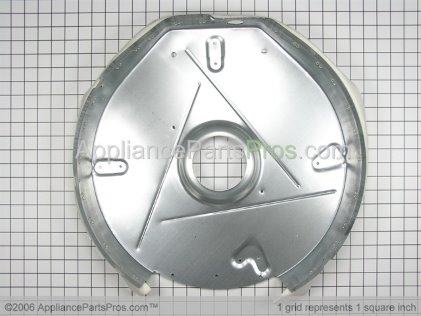 GE Duct Heat WE14X10017 from AppliancePartsPros.com