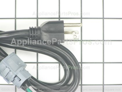 GE Dw Power Cord 5'4' WX09X70910 from AppliancePartsPros.com