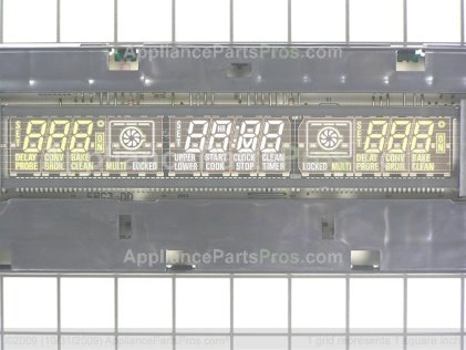 GE Electronic Range Control Board WB27T10290 from AppliancePartsPros.com