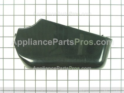 GE End Cap Lt (blk) WB07K10054 from AppliancePartsPros.com