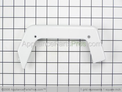 GE End Cap, Right Side (white) WB07K10005 from AppliancePartsPros.com