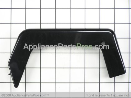 GE End Cap Rt (blk) WB07K10003 from AppliancePartsPros.com