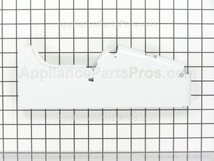 GE End Cover, Right Side (white) WB07K10001 from AppliancePartsPros.com