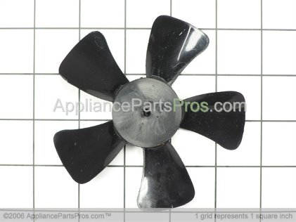 GE Evaporator Fan Blade WR60X123 from AppliancePartsPros.com