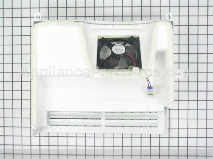 GE Evaporator Fan Motor Assembly WR17X11844 from AppliancePartsPros.com