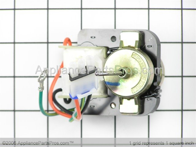 Ge wr60x10172 evaporator fan motor for Evaporator fan motor troubleshooting