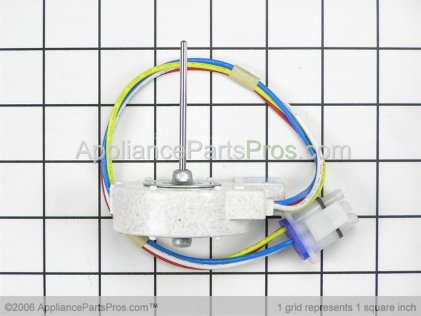 GE Evaporator Fan Motor WR60X10185 from AppliancePartsPros.com