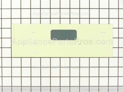 GE Faceplate Graphics As WB27T10514 from AppliancePartsPros.com