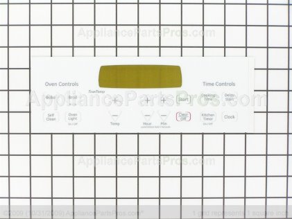 GE Faceplate WB27T11231 from AppliancePartsPros.com