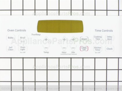 Ge Wb27t11231 Faceplate Appliancepartspros Com
