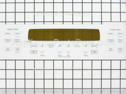 GE Faceplate WB27T11235 from AppliancePartsPros.com