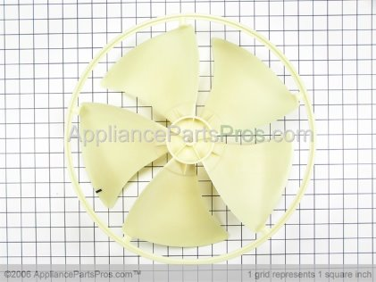 GE Fan Blade WJ73X10115 from AppliancePartsPros.com