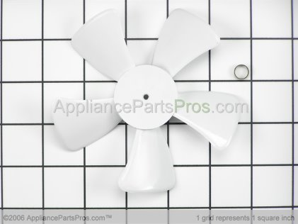 GE Evaporator Fan Blade WR60X114 from AppliancePartsPros.com