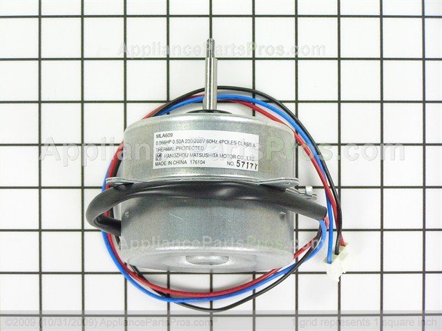Ge Wj94x10021 Fan Motor
