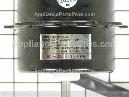 GE Fan Motor WJ94X10311 from AppliancePartsPros.com