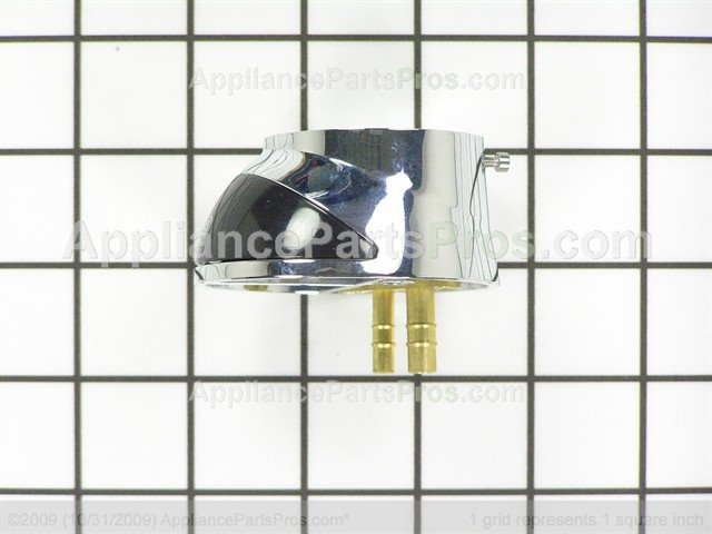 GE WS10X10041 Faucet Base Chrome - AppliancePartsPros.com