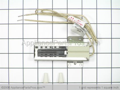 GE Flat Style Oven Igniter WB2X9998 from AppliancePartsPros.com