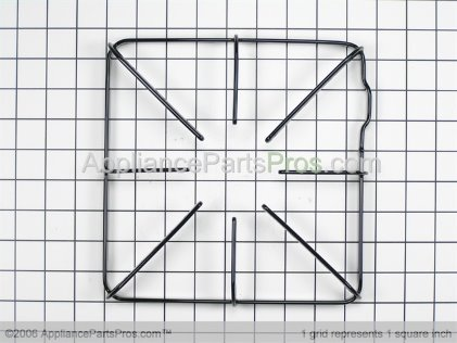 GE Gas Burner Grate WB31K10012 from AppliancePartsPros.com