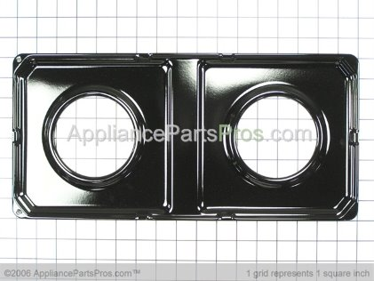 GE Gas Pan WB49K3 from AppliancePartsPros.com