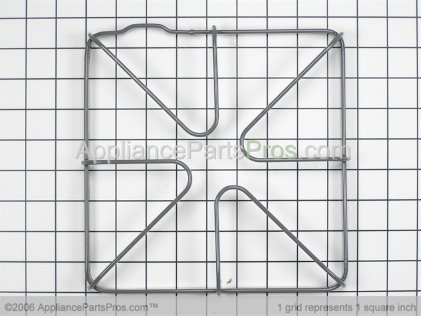 GE Gas Range Burner Grate WB31K10027 from AppliancePartsPros.com