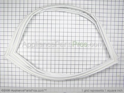 GE Fresh Food Door Gasket WR24X446 from AppliancePartsPros.com