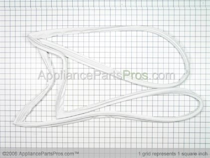 GE Gasket Dr Ff Wht WR24X10155 from AppliancePartsPros.com