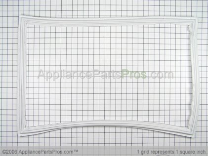 GE Gasket Ltm Fz Door Wh WR24X10076 from AppliancePartsPros.com
