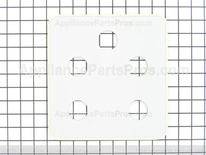 GE Glass Cntl Pnl Asm WB57T10127 from AppliancePartsPros.com