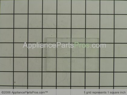 GE Glass-Cook Top Lamp Lens WB36X10167 from AppliancePartsPros.com