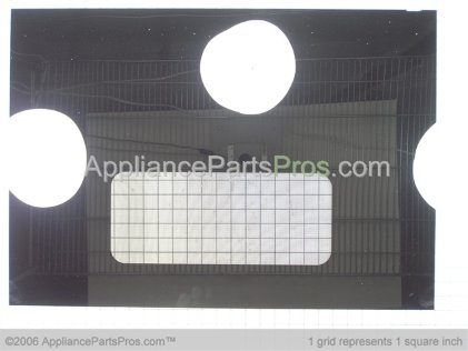 GE Glass Door Small Wn Bl GE WB56T10035 from AppliancePartsPros.com
