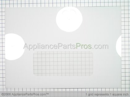 GE Glass Door Small Wn White GE WB56T10037 from AppliancePartsPros.com