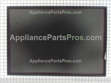 GE Glass Maintop Assembly (blk) WB61T10009 from AppliancePartsPros.com
