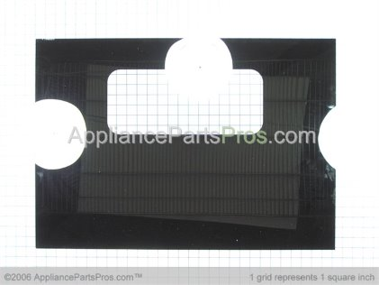 GE Glass Oven Door (blk) WB56T10148 from AppliancePartsPros.com