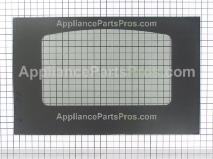 GE Glass Oven Door (bk) WB57K10109 from AppliancePartsPros.com