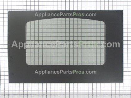 GE Glass Oven Door (bk) WB57K10109 from AppliancePartsPros.com