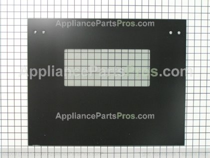 GE Glass Oven Dr Blk WB15T10122 from AppliancePartsPros.com